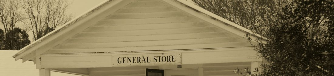 Old Waynesborough general store