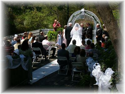 Old Waynesborough wedding ceremony