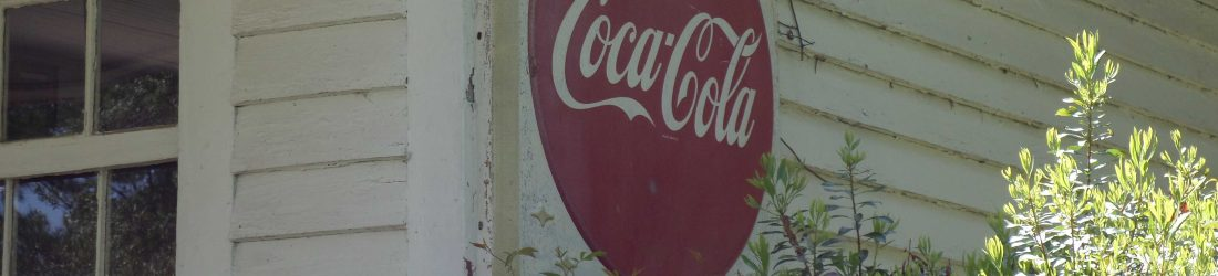 Old Waynesborough coke sign