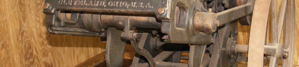 Old Waynesborough press